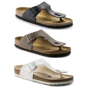 5d173823097 Image is loading Birkenstock-Ramses-Birko-flor-Thong-Flip-Flops-Sandals-