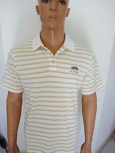 Ashworth-Golf-Herren-Golf-Poloshirt-weiss-gestreift-S