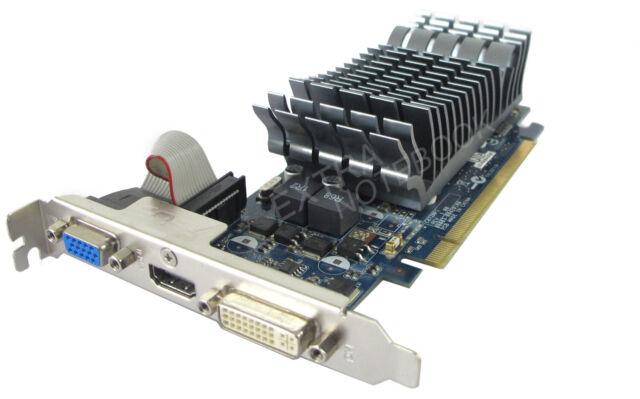 ASUS GeForce 210 Grafikkarte 1GB DDR3 64-bit PCI Express 2.0 x16 extra leise #