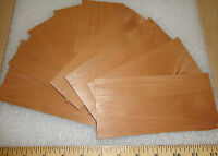 Alder Wood Veneer 3 X 7 And Larger With No Backing Sample Pack With 8 Pieces