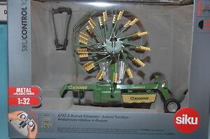 Siku-Control32-6782-2-Kreisel-Schwader-Zu-Rc-Modelos-y-1-3-2-Granjero-Nuevo