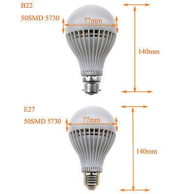 E27 B22 4W 6W 8W 10W SMD Warm/Cool White Led Bulb AC220V TRUE Wattage