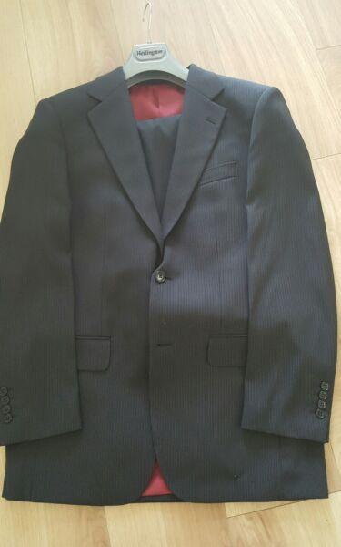 """""""nuovo Di Zecca Daniel Grahame"""" Gents Sottile Grigio Prinstripe Suit 38r Avere Uno Stile Nazionale Unico"""