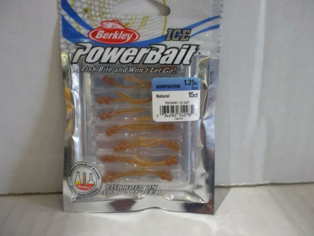 Grasshopper 5 Count Berkley PowerBait Fresh Water Fishing Bait 32 Oz