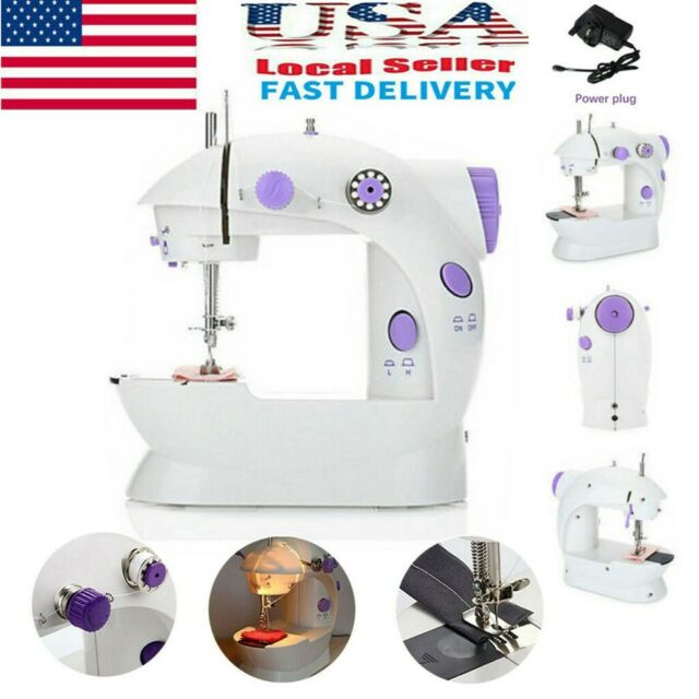 12 Stitches Desktop Electric Sewing Machine Household Tailor 2 Speed Foot Pedal