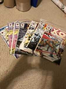 X-O-MANOWAR-8-14x2-15-18-19-20-Valiant-VF-NM-9-0-9-8-SET-Original-Owned
