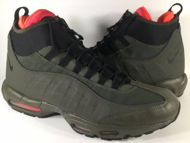 Nike Air Max 95 Sneakerboots Men's Olive Green Black