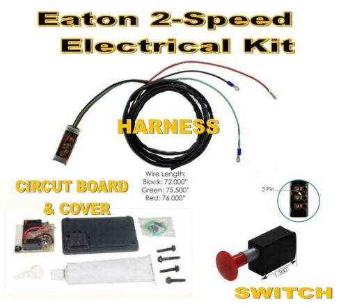 Circut Board - Harness - Switch Eaton Spicer 2-Speed Electrical Kit