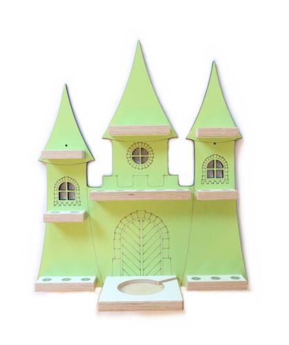Märchenschloss für magnetische Figuren Tonieregal Musikbox Tonie Regal Box