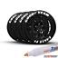 Tire-Permanent-Paint-White-Marker-Pen-Car-Rubber-Universal-Waterproof-4-Pack miniature 1