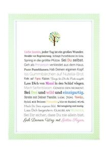 Details Zu Geschenk Taufe Mädchen Personalisierbares Bild Als Taufgeschenk Gastgeschenk