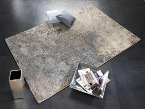 Teppich Butterfly Admiral BUT01 486 Türkis beige modern 160x230 cm