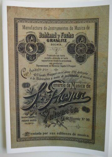 Reprint Bohland und Fuchs ca.1890 Firmenkatalog