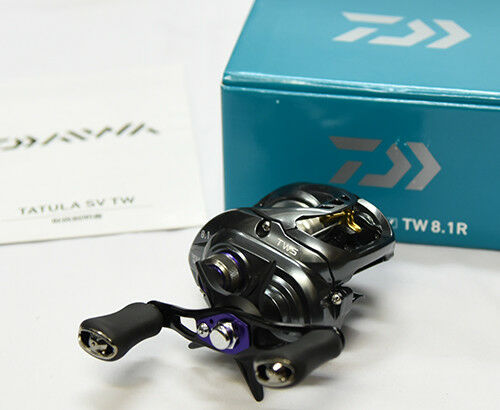Last One   2017 Daiwa TATULA SV TW 8.1R  (RIGHT HANDLE)  Bait Casting Reel  enjoy 50% off