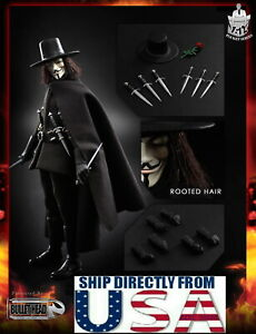 Bullet Head BH004 1//12 V-Vendetta Movable Doll Toys  action Figure  Model