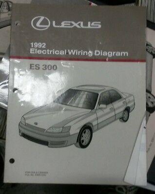 1992 Lexus ES300 ES 300 Factory Original Electrical Wiring ...