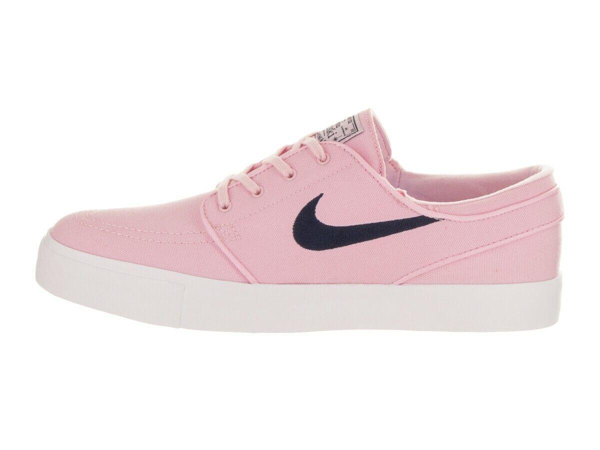 Nike ZOOM STEFAN JANOSKI CNVS Prism Pink Obsidian Skate (D) (658) Men's Shoes