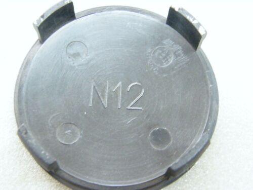 ORIGINALE COPRIMOZZO Rial n12 Nero per Alufelge m10 COPERCHIO MOZZO N 12 74//72 mm