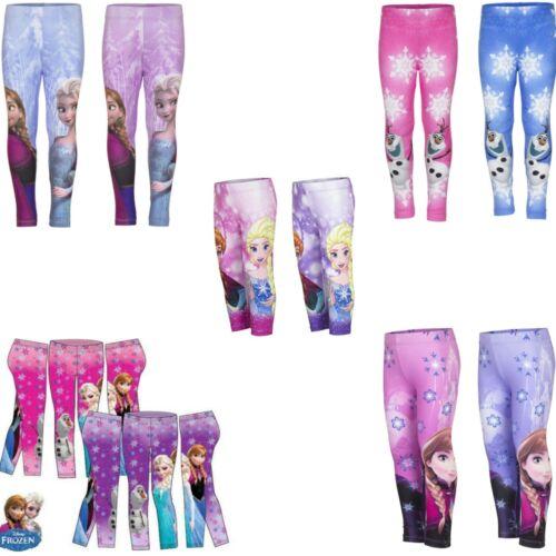 Disney Frozen Leggings Leggins Jeggings Hose Elsa Anna Olaf Lizans