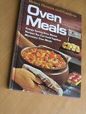 Book Better Homes and Gardens Oven Meals 1974 Meredith Hardback Cookbook Recipe