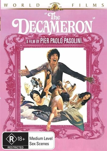 The Decameron Pier Paolo Pasolini GENUINE R4 DVD RARE ITALIAN AS NEW HTF RATED R
