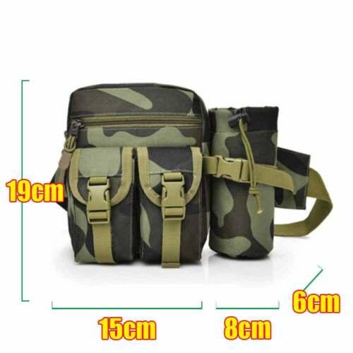 Fanny Pack Waist Bag with Water Bottle Holder Unisex for Walking Running New
