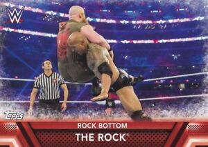 2017-Topps-Wwe-Then-Now-Forever-Mapas-Clasificados-F-7-The-Rock