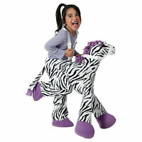 Zebra Purple Plush Ride On Rider Riding Toddler Halloween Costume Size Osfm