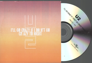 U2-I-039-ll-Go-Crazy-If-I-Don-039-t-Go-Crazy-Tonight-Cd-Promo-France-French-Card-Sleeve