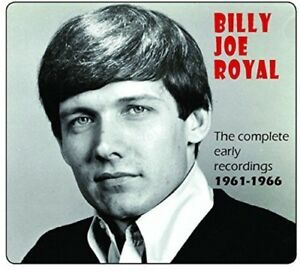 Billy-Joe-Royal-Complete-Early-Recordings-1961-1966-New-CD