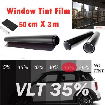 "Uncut Roll Window Tint Film 20/% VLT 20/"" In x 5/' Ft Feet Car Home Office Glass"
