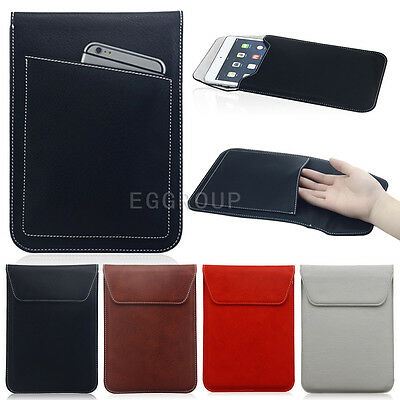 """PU Leather Magnetic Sleeve Bag Pouch Case Cover for Various 7.9"""" 8"""" Tablets PC"""