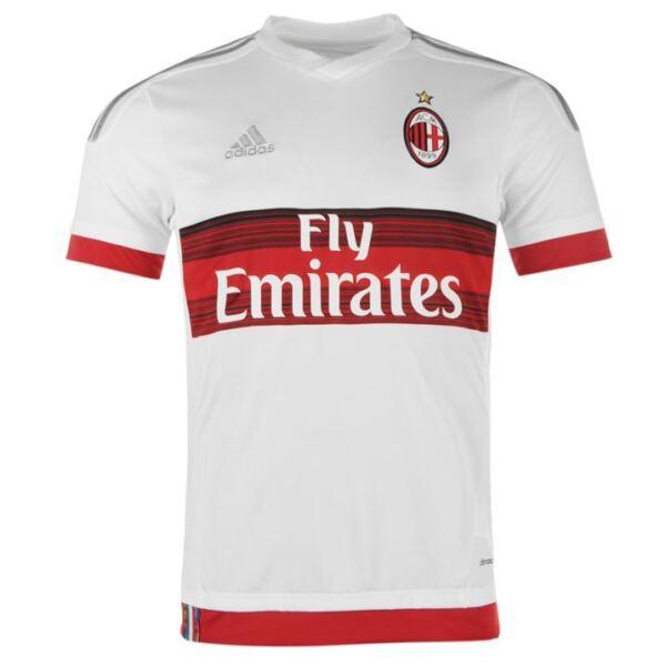Apprensivo 2956 Adidas Milan Acm Maglia Away Scudetto Maglietta Jersey Shirt S15643