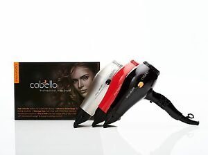 Cabello PRO 4600 - Professional Hair Dryer_2200W AC MOTOR -  Black / Grey / Red
