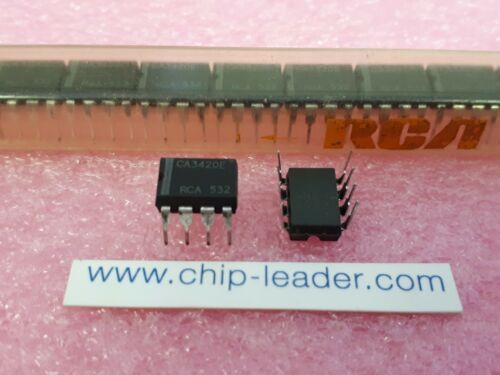 1 Func BIMOS 100x RCA CA3420E Operational Amplifier PDIP-8 IC