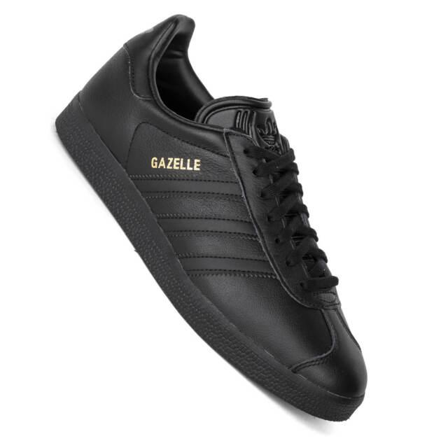 Adidas Gazelle Anima Nera - Scarpe da Ginnastica Unisex Im All Black Look BB5497