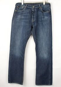 Levi's Strauss & Co Hommes 501 Jeans Jambe Droite Taille W36 L34 BEZ611
