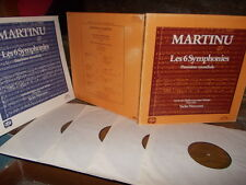 MARTINU: 6 Symphonies + Inventions   Czech PO Neumann / 4 LPs Supraphon Germany