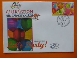 2003-ALPHA-CELEBRATION-amp-NATION-LETS-PARTY-ILLSUTRATED-FDC