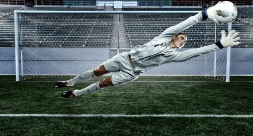 """USA Soccer Top Goalkeeper Star 26/""""x14/"""" Poster 008 Hope Solo"""