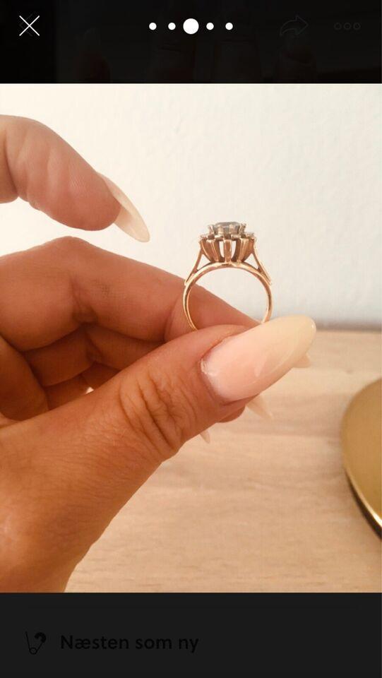 Ring, guld, 14 karat