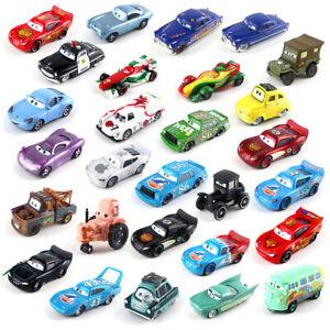 Disney Pixar Lot Choose Loose Toys Model Cars McQueen 1:55 Diecast Lot Mattel