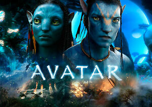 A1 - A5 SIZES AVAILABLE AVATAR MOVIE WALL ART POSTER