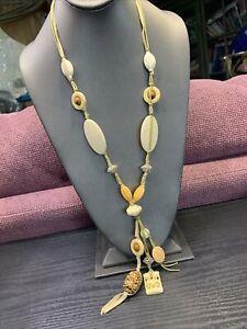 Vintage-Bohemian-style-tan-Imitation-bone-beaded-statement-32-Necklace