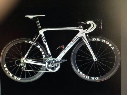 DE Rosa Carbon Deep Rim Bike//Cycling//Cycle Wheel Decal Sticker Kit 700C 2Wheels