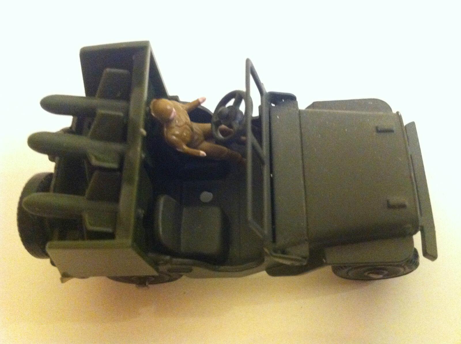 Une nouvelle génération, nouvelle sélection! Dinky Toys 828 828 828 Jeep Porte-fusées SS10 VN Mint | Matériaux De Haute Qualité  335dda