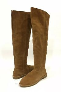 "5517f58f523 UGG ""LOMA"" OVER THE KNEE BOOTS CHESTNUT BROWN SUEDE -US SIZE 7.5 ..."
