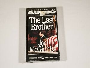 New The Last Brother by Joe McGinniss (1993, Cassette, Abridged) Book On Tape