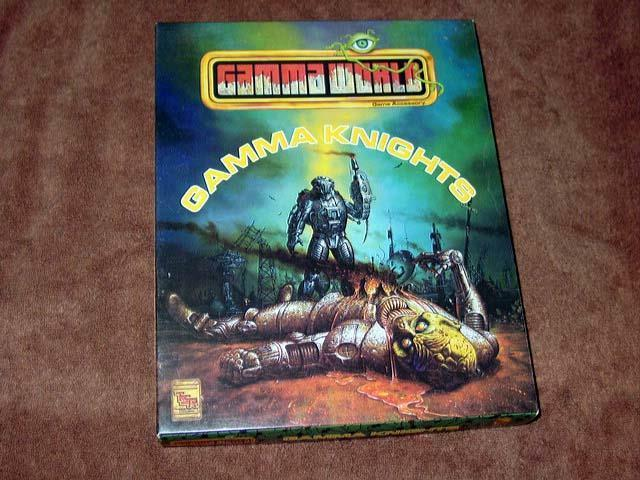 TSR 1992 - Gamma World - Gamma Knights - Game Accessory
