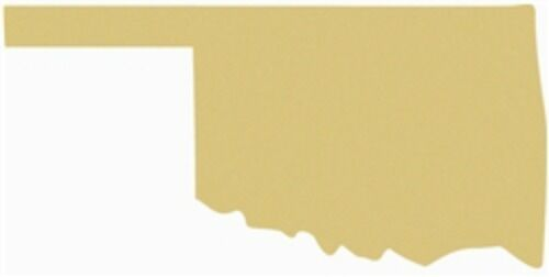 Oklahoma Unfinished Cutout, Wooden State, 24'' Paintable MDF DIY Craft
